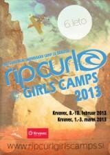 Snowboard kamp za dekleta 2013