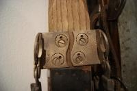 Patentirana čeljust iz zbirke smučarske opreme Marjana Batagelja.